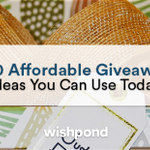 Pick, choose, and reuse: here are 50 giveaway ideas you can use that won't break the bank. Click here to read: https://t.co/Nk6W8d3Aeo