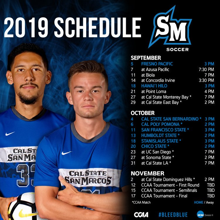 Men's Soccer - Cal State San Marcos Athletics