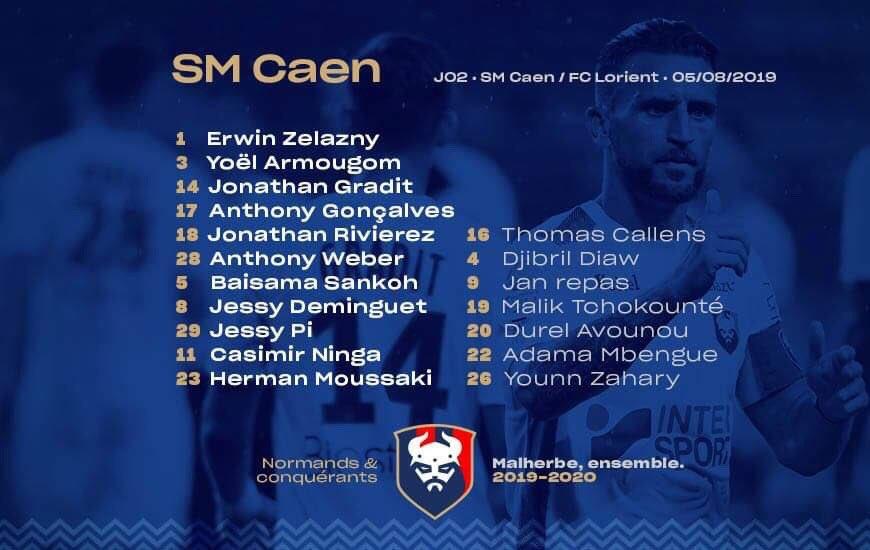 [2e journée de L2] SM Caen 1-2 FC Lorient EBOVP4QW4AAQy7u