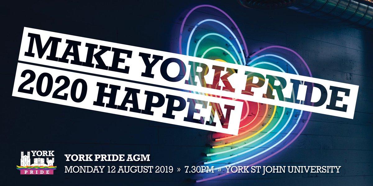 York Pride 🏳️ 🌈 (@YorkPride) | Twitter