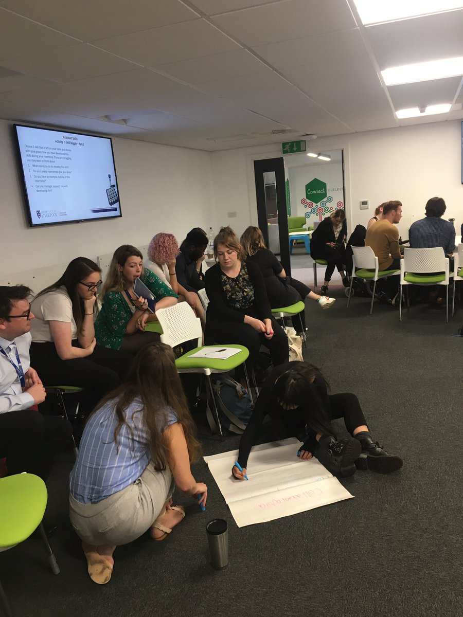 Another great session with our Kick-Start Interns this afternoon discussing all things skills, values and motivations. @Jess_A_Sanders loves a bit of friendly competition! #bingonotbingo #graduatedevelopment #employabilityskills
