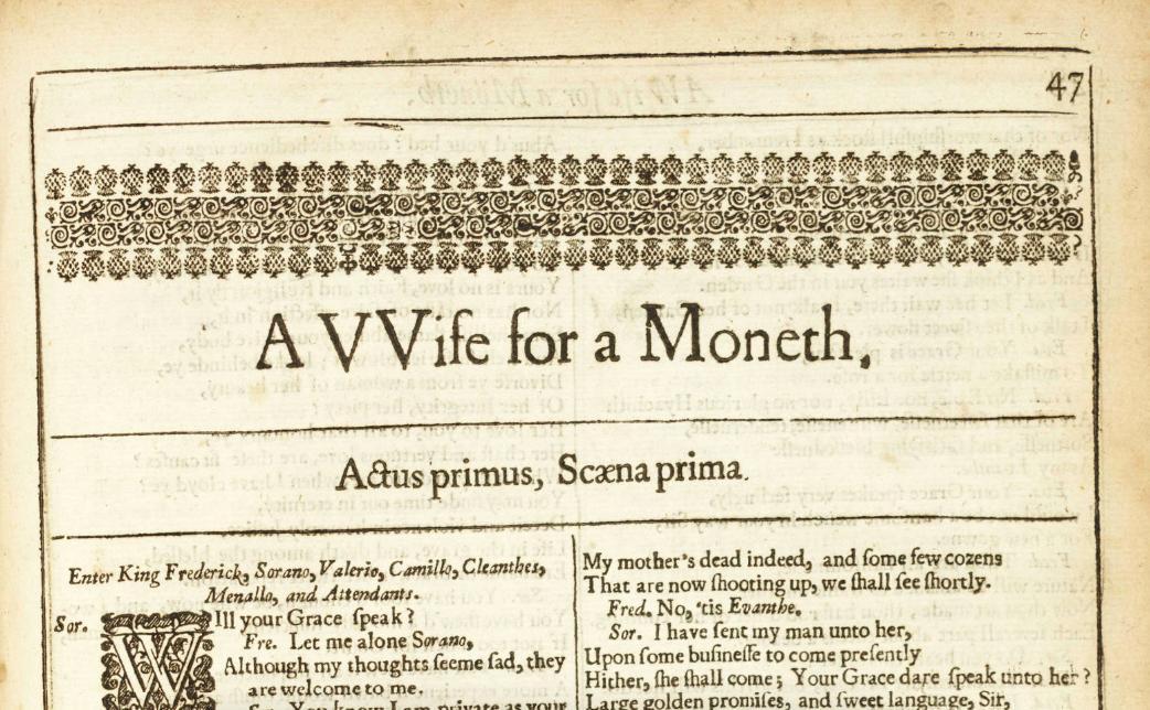 The Digital Beaumont & Fletcher (1647) (@beaumont_fletch)   Twitter