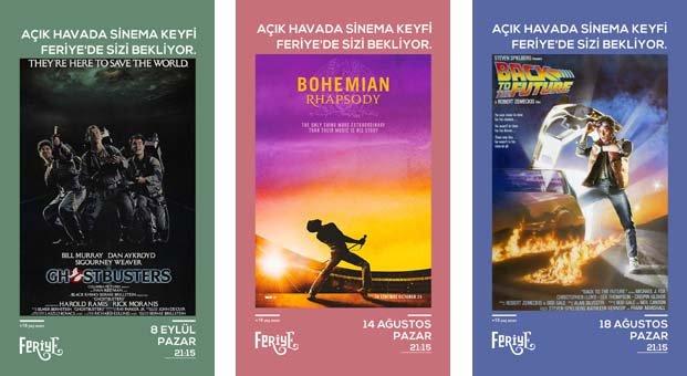 Müzikle dolu filmler bayramda Feriye Açık Hava Sinemasında