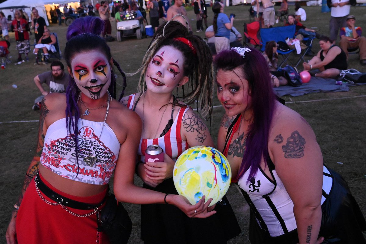 Insane clown posse is amaze
