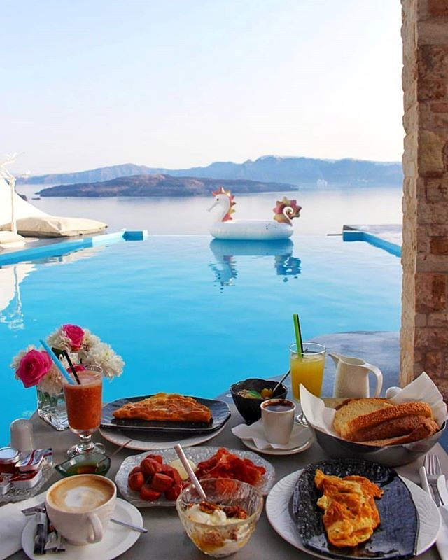 Картинки, картинки доброе утро завтрак у моря