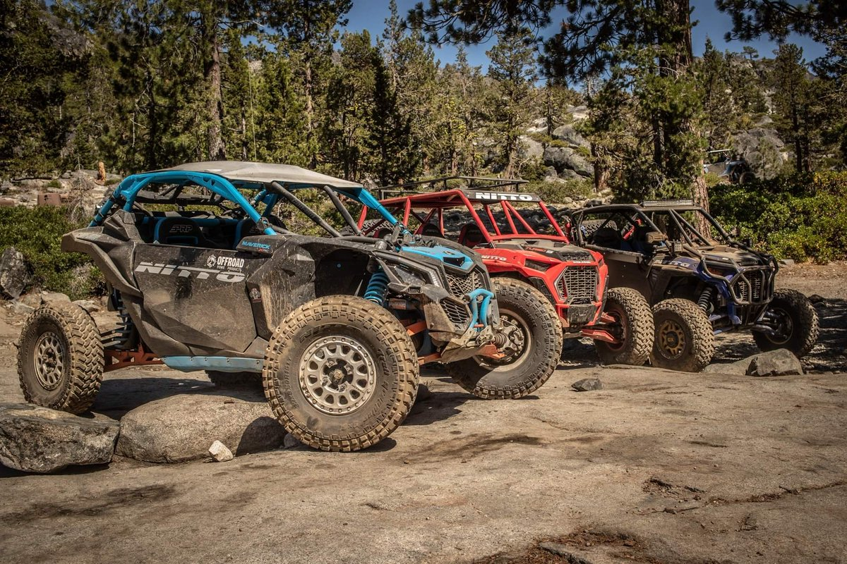 Everyone who attended the 1st Annual UTV Con Quest prestented by Jeepers Jamboree this last week had an awesome time. Who wishes they would have gone?! #Ultra4 #UTV #RubiconTrail #JeepersJamboree #SummerWheeling #MotorMonday Photo by @RedlineProjects | @NittoTire | @CanAm