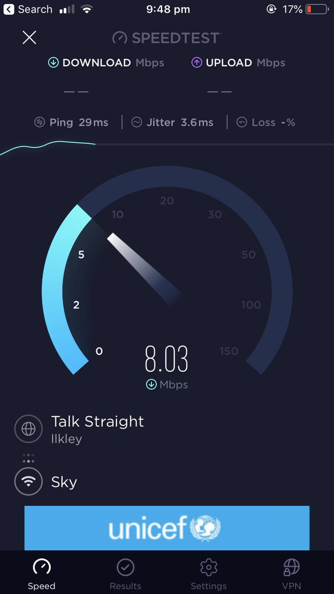 @SkyHelpTeam my MALS is about 13mb, currently 7.7-8mb. Had about 5 visits from yourselves & senior @OpenreachHelp engineers over past few months. Nobody can ever find any faults tho?! My iPhone on 4G is 10x faster.... what am I paying for? Meant to be Fibre!? BD10 Apperley Bridge