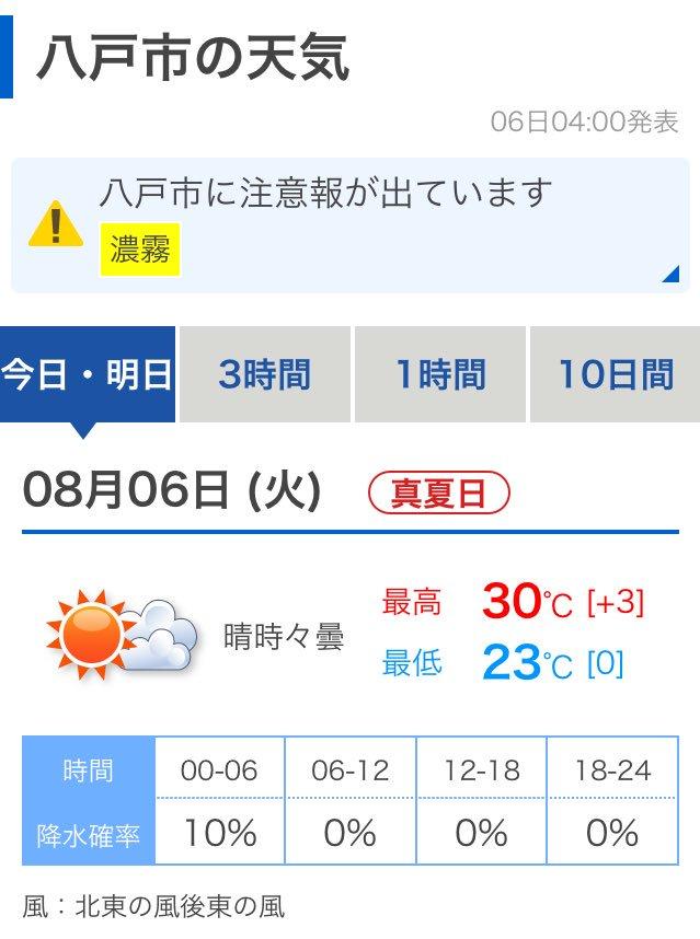 青森 市 天気 10 日間