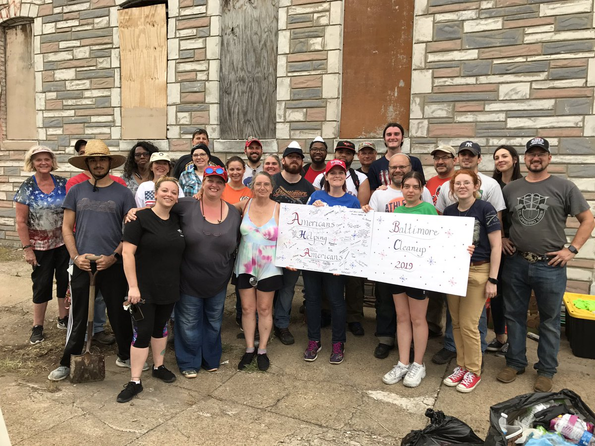 12 tons of trash removed from Elijah Cummings Baltimore after 170+ volunteers helped pick