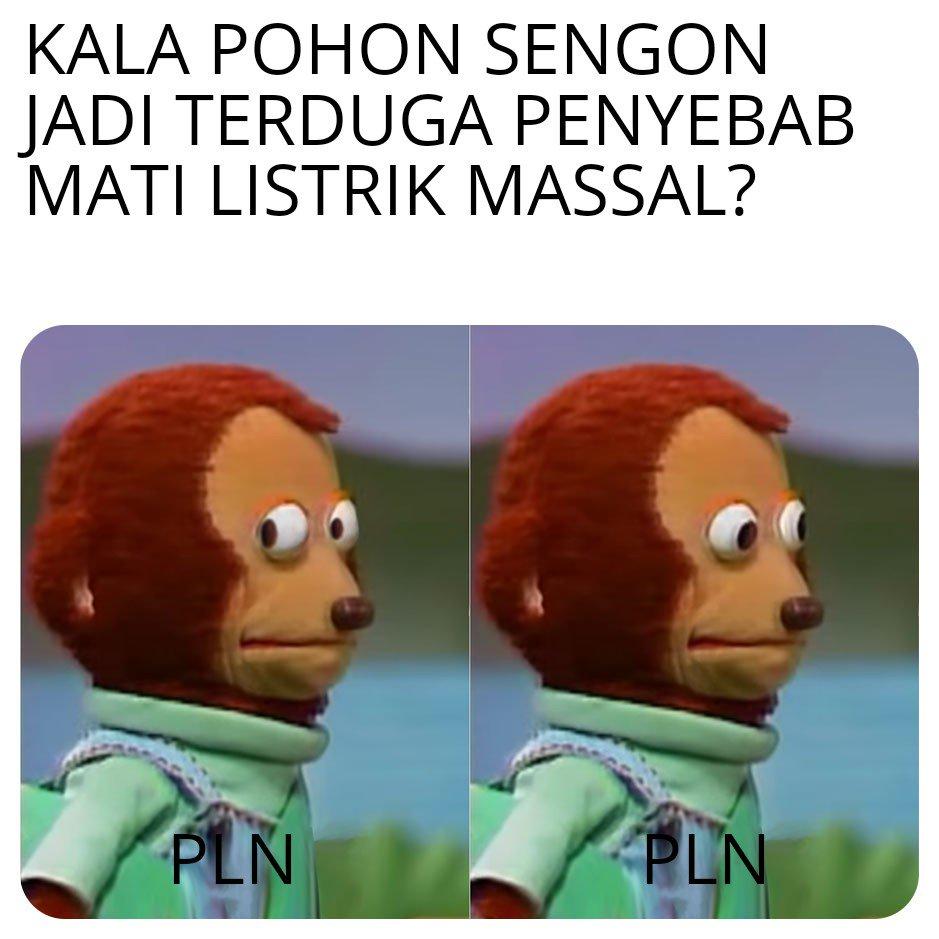 Meme Pohon Sengon