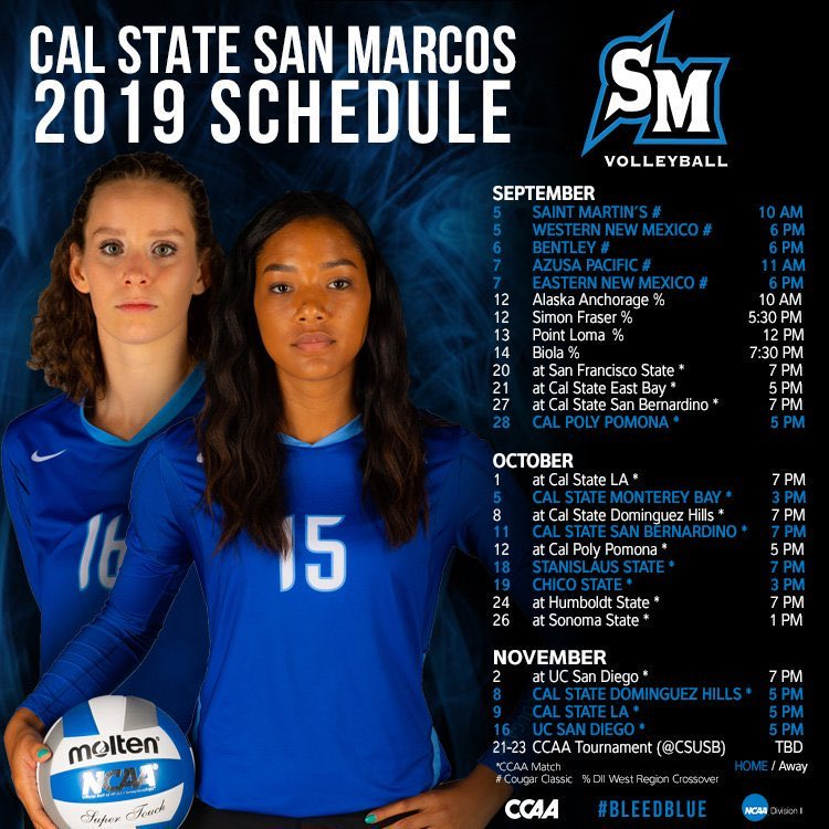 Volleyball - Cal State San Marcos Athletics