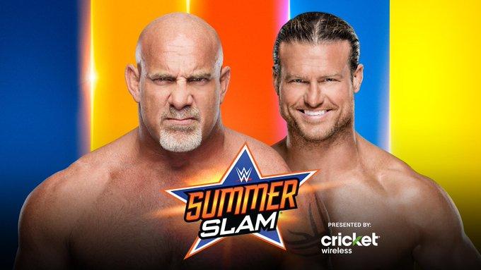 Goldberg Vs. Dolph Ziggler Confirmed For WWE SummerSlam (Video)