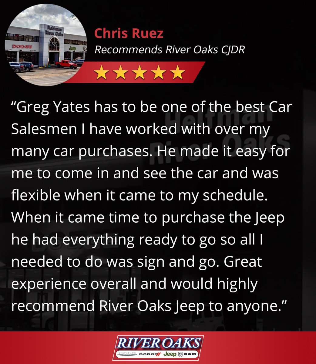 River Oaks Dodge >> River Oaks Chrysler Jeep Dodge Ram Riveroakscjdr Twitter