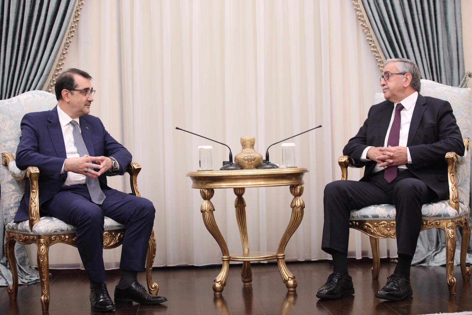 Fatih Dönmez KKTC Cumhurbaşkanı Mustafa Akıncı