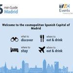 Image for the Tweet beginning: MADRID 🇪🇸   This September