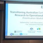 Image for the Tweet beginning: Today we (Australian EO community)