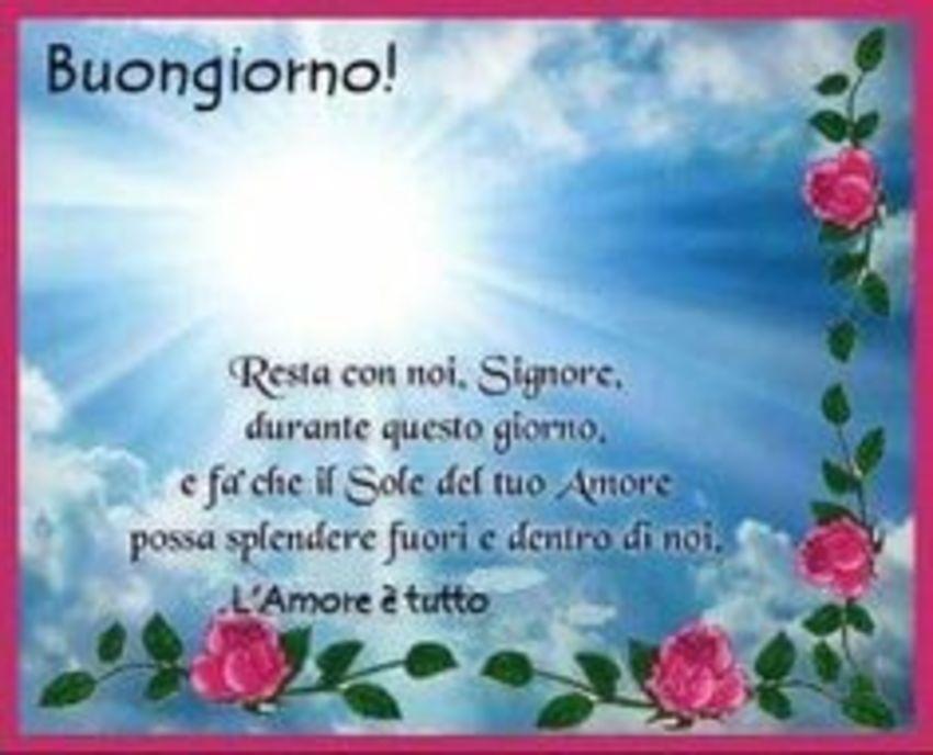 Buona Giornata Anche A Te Giuseppe Buona Giornata A Tutti