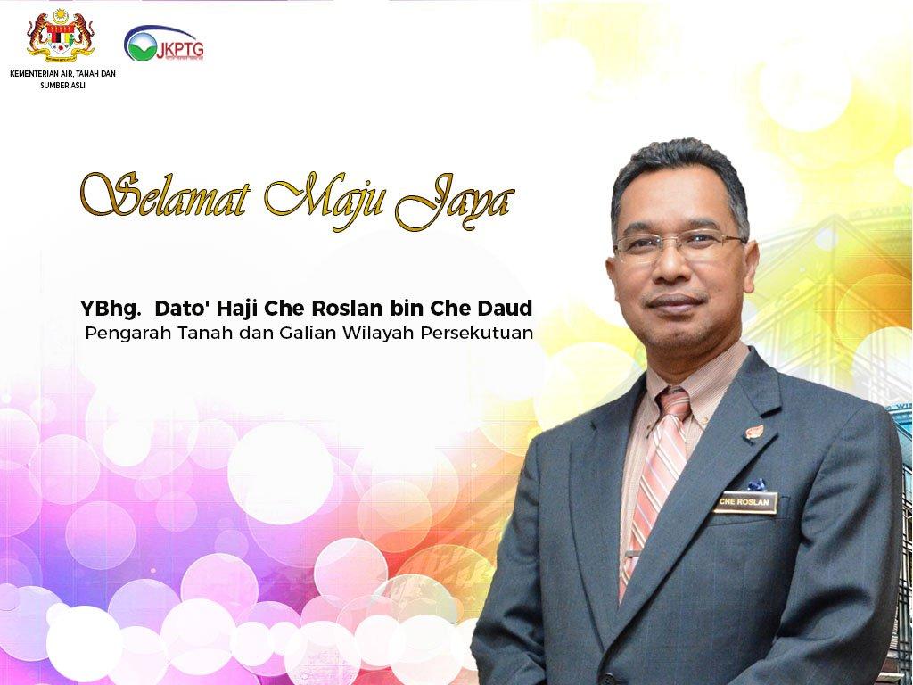 Jkptg On Twitter Untuk Makluman Ybhg Dato Hj Che Roslan Telah Bertukar Ke Ptgwpkl Menyandang Jawatan Sebagai Pengarah Ptg Wilayah Persekutuan Berkuatkuasa 25 7 2019 Jawatan Tkptg Skpp Jkptg Kini Disandang Oleh Ybrs Tuan