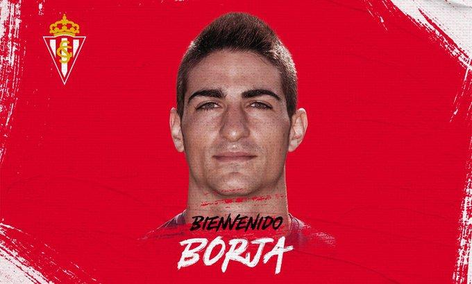 Borja López, nuevo jugador del Sporting.