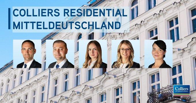 Colliers ist in #Leipzig weiter auf Expansionskurs und komplettiert sein Residential-Team in Mitteldeutschland:  t.co/9mHK1OixwL