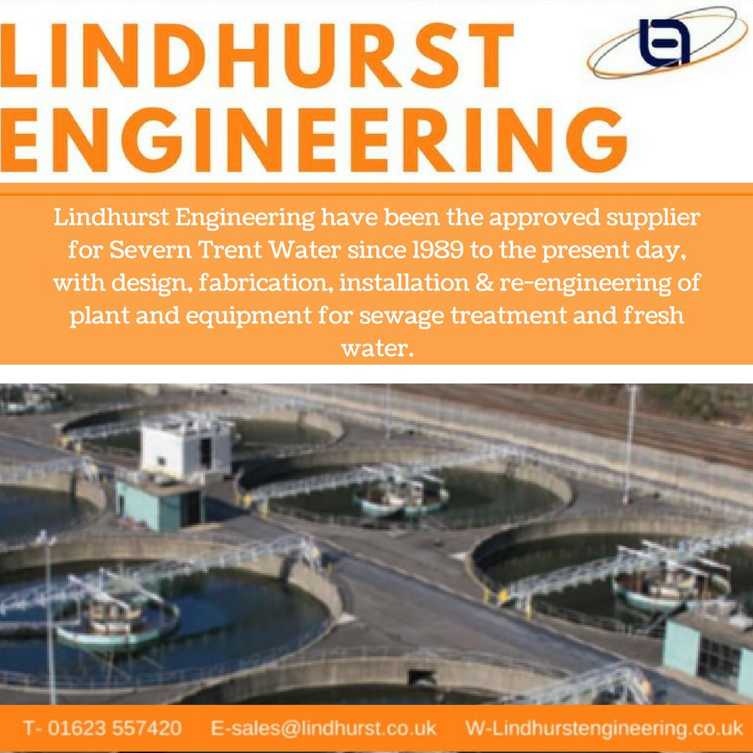 One of our longest standing customers has been Severn Trent Water since 1989. Check out our website for a history of our projects lindhurstengineering.co.uk/history/ #LHEng #innovative #engineering #solutions #EngDiversity