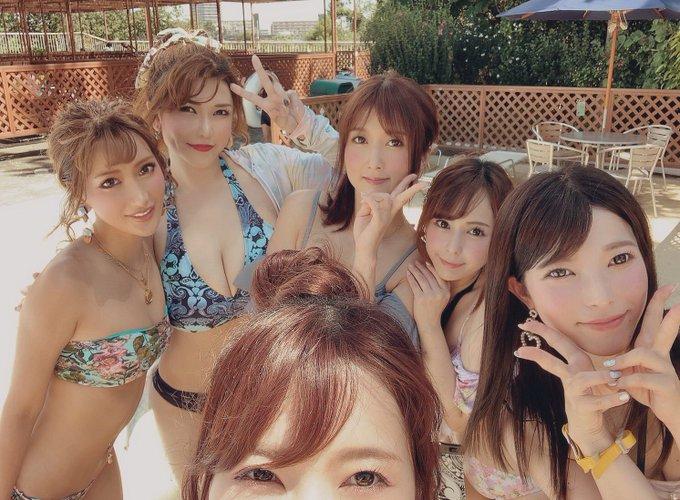 AV女優沖田杏梨のTwitter自撮りエロ画像12