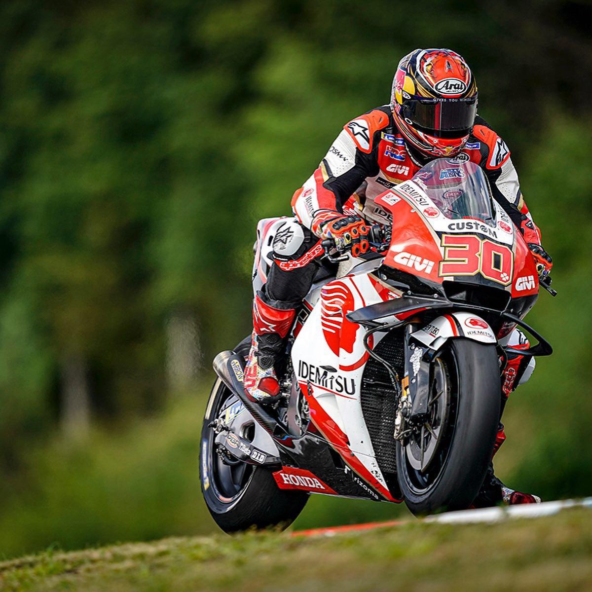 良いテストでした!オーストリアに移動します🇦🇹 Good test yesterday 😄! Thanks my team for hard work 👏🏼 Let's go to Austria 🇦🇹 #MotoGP
