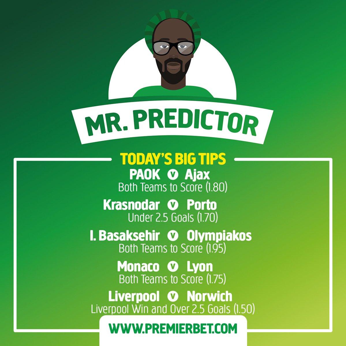 Mr  Predictor (@mr_predictor) | Twitter