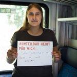 Image for the Tweet beginning: #Unteilbar heißt für mich:  Solidarität!