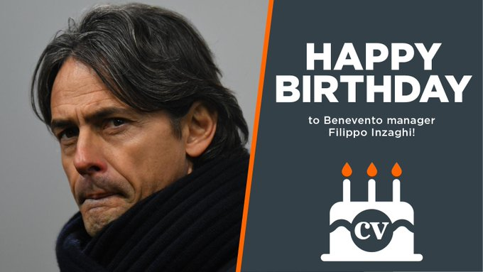 Happy birthday to manager Filippo Inzaghi!