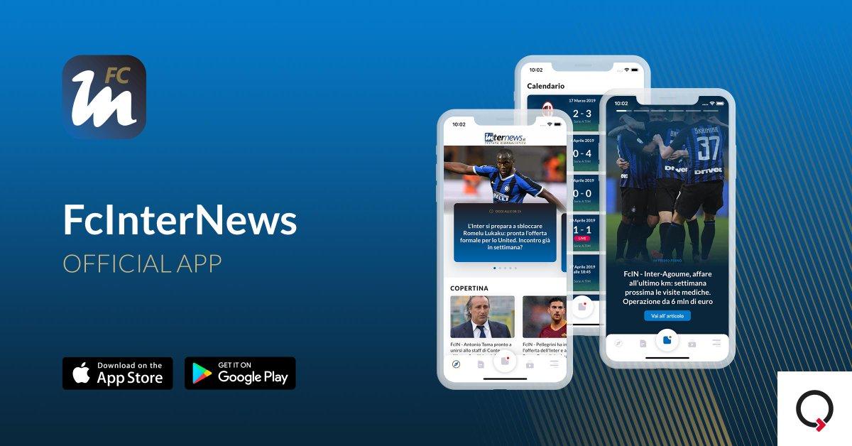 🆕 @FcInterNewsit si affida a #IQUII per restyling e sviluppo dell'app di informazione dedicata ai tifosi nerazzurri 👉 I dettagli e le novità nel Comunicato ufficiale: bit.ly/33fBPmY #Mobile #App #FcInternazionale #UX