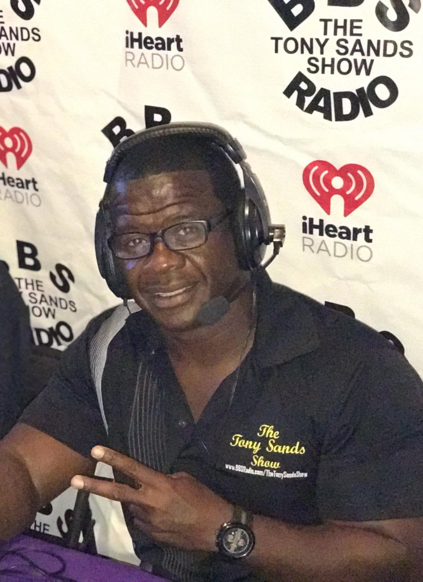 Tony Sands Show on the move bbsradio.com/thetonysandssh… @iHeartRadio weekly