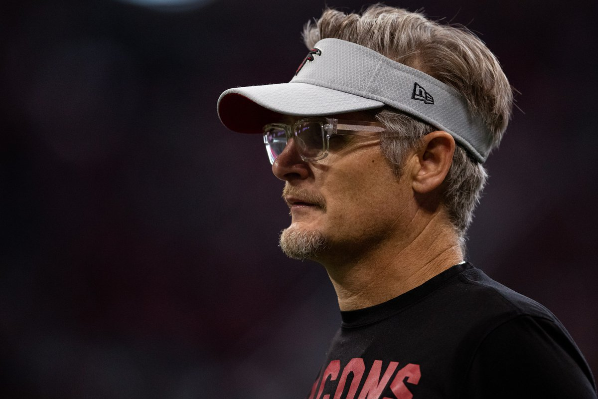 Want to rep a Falcons visor like GM Thomas Dimitroff? RT for your chance to win!