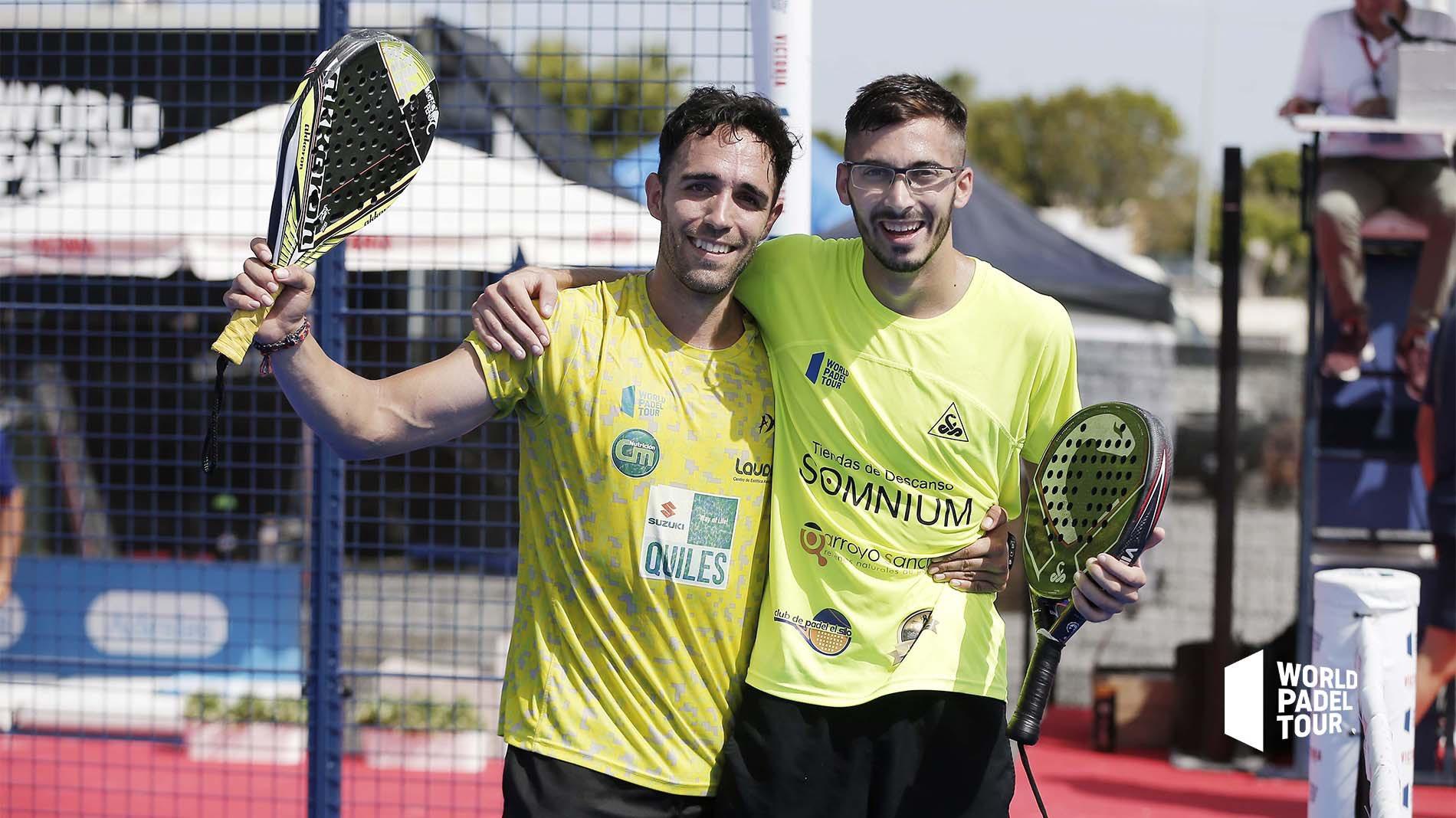 Francisco Gil y Sergio Alba se meten en el cuadro final del Mijas Open