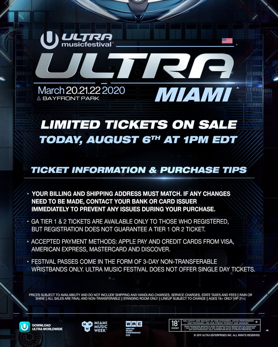 Ultra Music Festival (@ultra)   Twitter