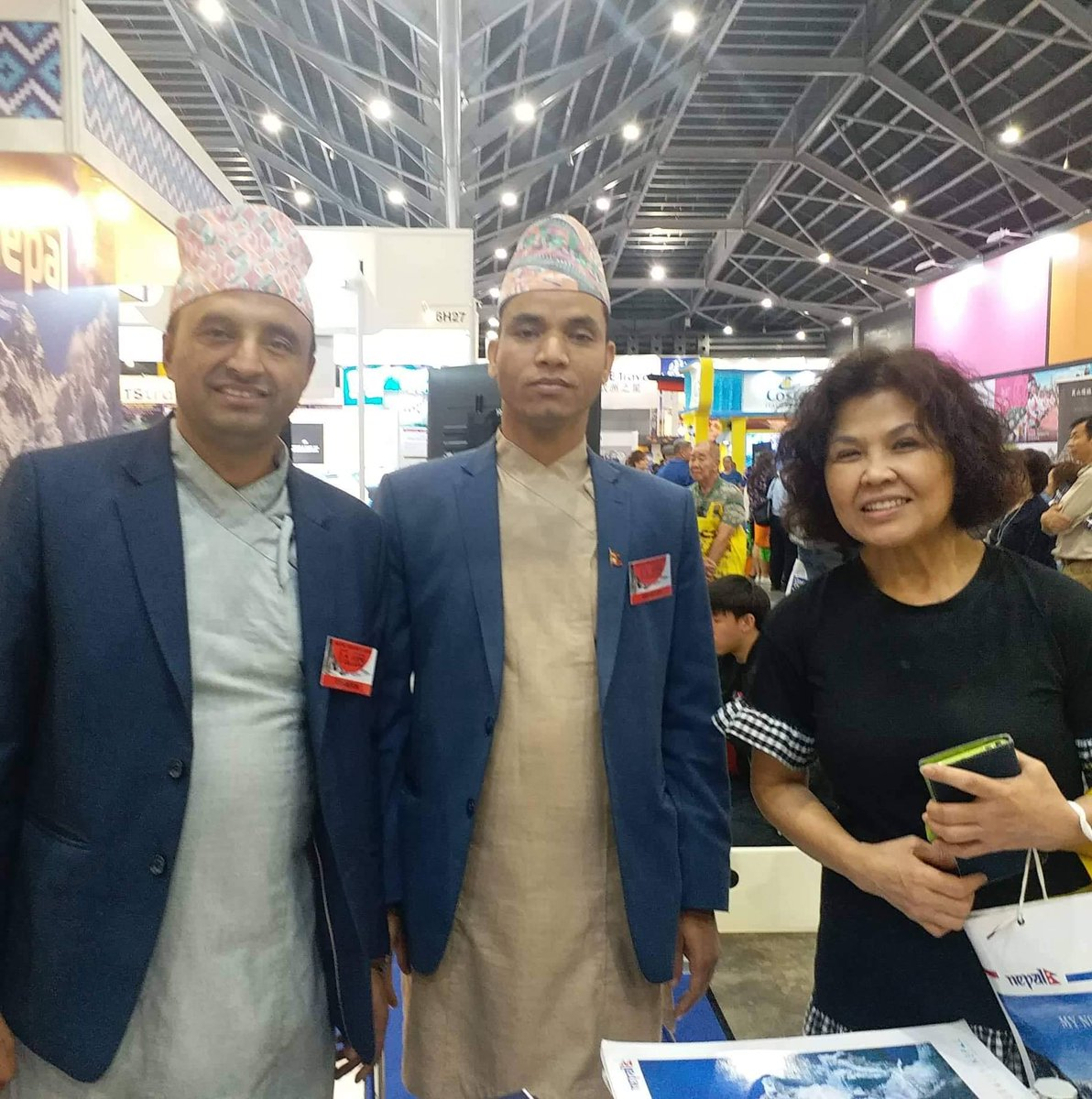 NATAS Holidays 2019 in Singapore formally began with enthusiastic participation from the trade and general public. The fair being led by Nepal Tourism Board is participated by four tour companies from the private sector tourism industry of Nepal. #visitnepal2020 #promotenepal
