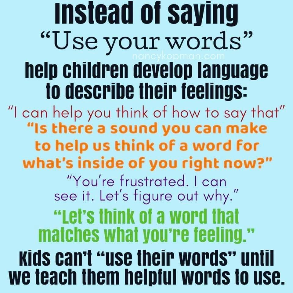 How to Help Children Develop Language to Describe Their Feelings. #SEL #teachingandlearning
