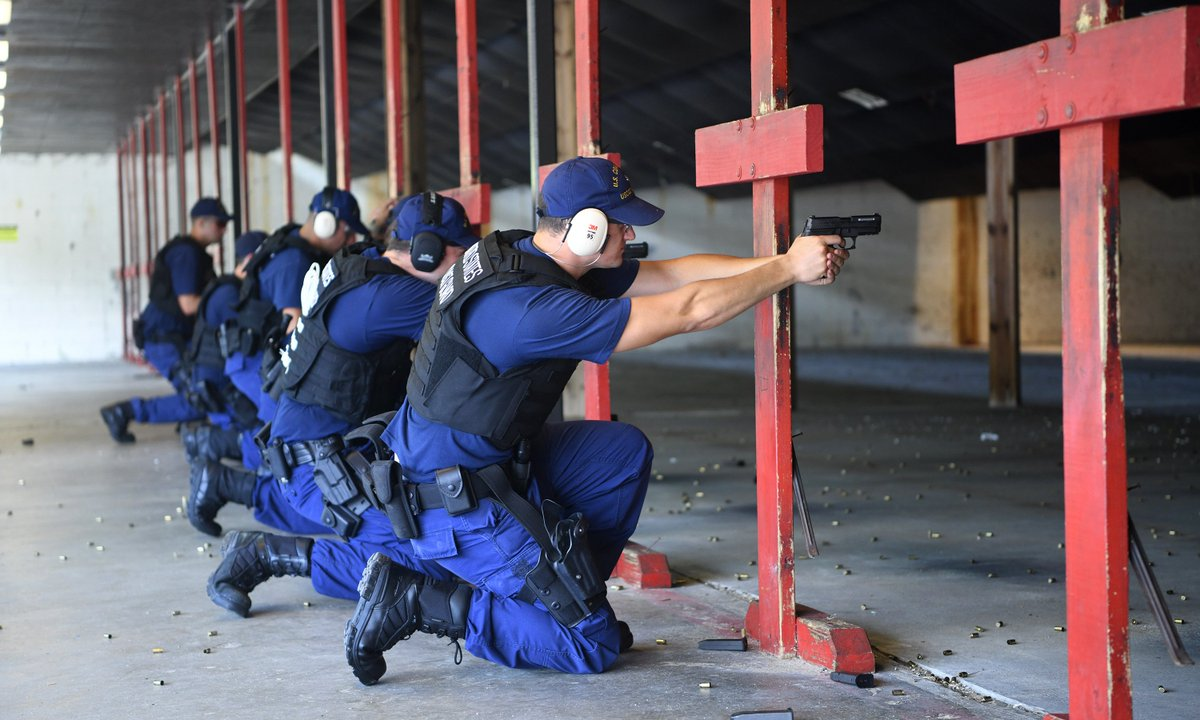 Shared Purpose 🇺🇸 Guardsmen with the US Coast Guard Sector Charleston test their firearm proficiency at JB Charleston to ensure readiness for their next mission. Our mutual partnership supports the @USCG in their mission of maritime safety, security & stewardship. @USCGSoutheast