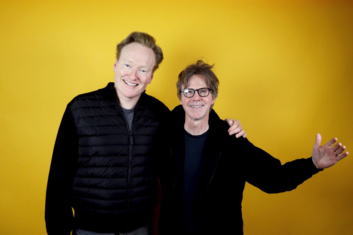 My new 6-part podcast mini-series was just an excuse to spend more time with one of my favorite comedians and friends, @danacarvey. http://apple.co/TeamCoco