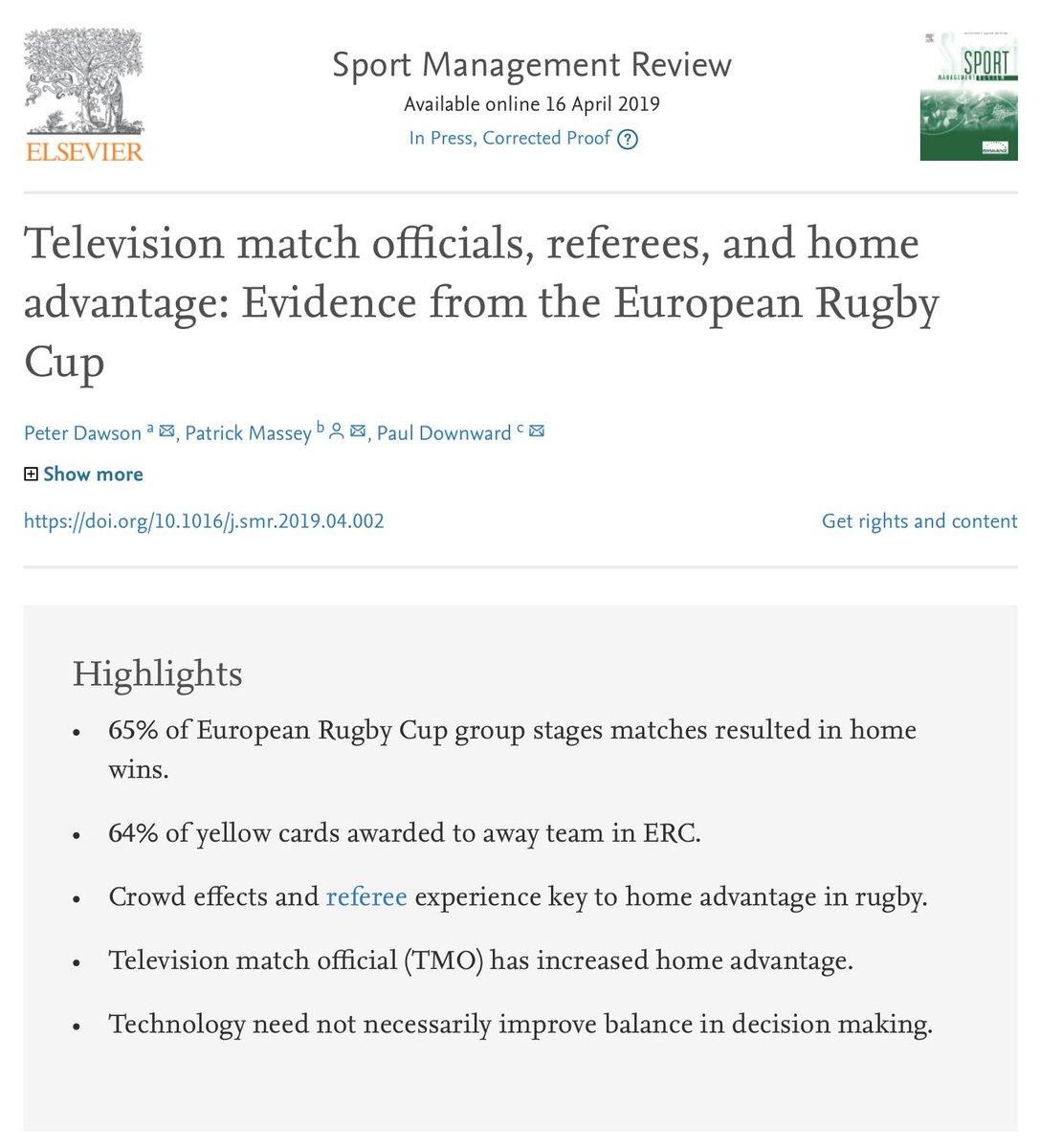 Sport Management Review (@SMR_Journal) | Twitter