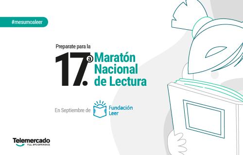 Resultado de imagen para Fundación Leer celebra la 17.ª Maratón Nacional de Lectura