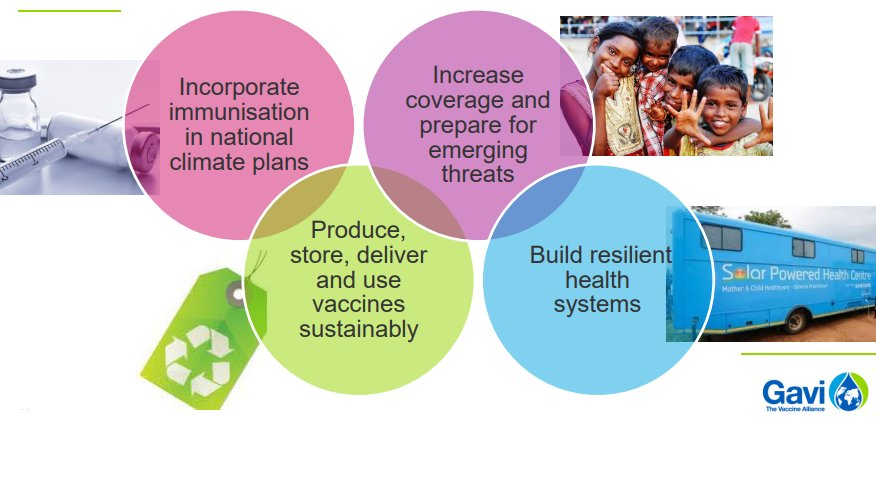 The impact of climate change affects people's wellbeing, livelihood, health and security, particularly for the vulnerable and marginalised.   Here's how the immunisation and #globalhealth community can mitigate the risk of disease outbreaks tied to climate change.👇 #SDG13 #SDG3 https://t.co/ODqw1sJvJM