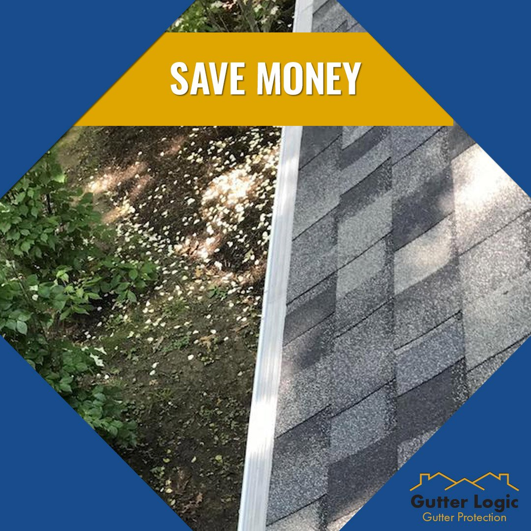 #TipTuesday: Save on gutter guards with #GutterDome! With our product, you can save up to $300 on gutter protection and $150 for installations over 100 feet.