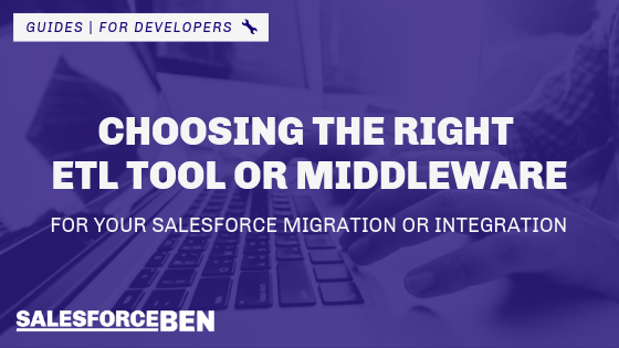 Choosing the Right ETL Tool or Middleware for Your