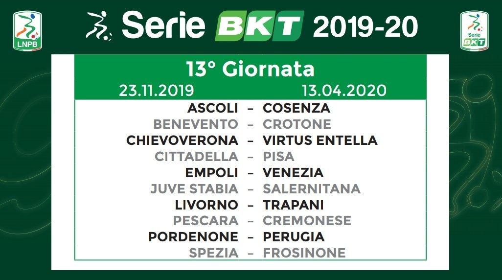 Calendario Serie B 2020 13.Puntoradiofm Notizie On Twitter