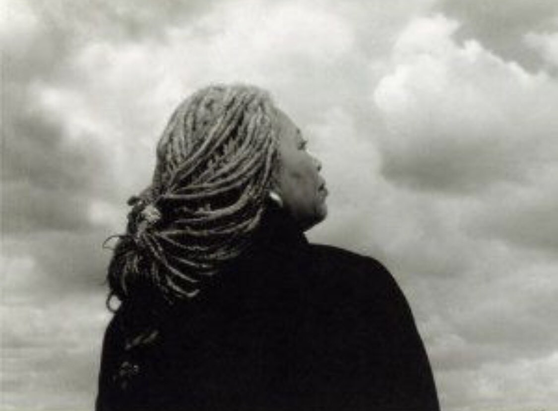 """""""If you surrendered to the air, you could ride it."""" Toni Morrison #ToniMorrison RIH ❤️ 😢 ❤️"""