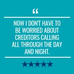 Image for the Tweet beginning: Having creditors constantly calling you