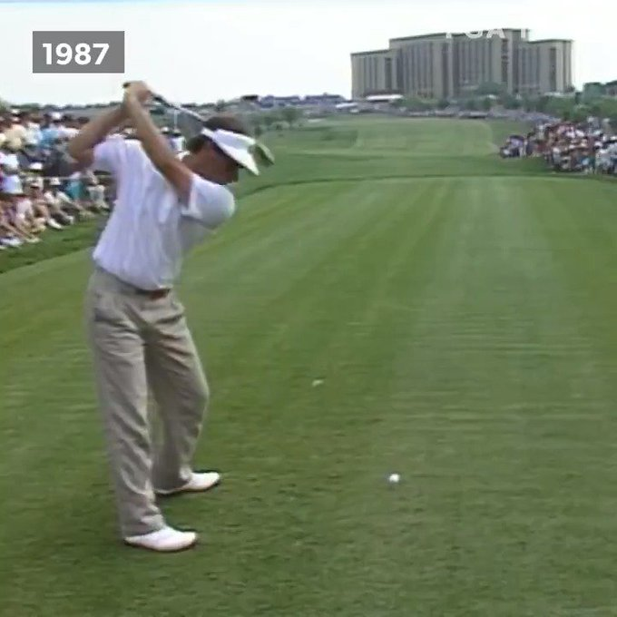 One of our favourite swings in the game. Happy birthday Fred Couples.