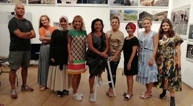 İyilik İçin Sanat Derneği üyelerinden An Çelik Arevyan'a ziyaret