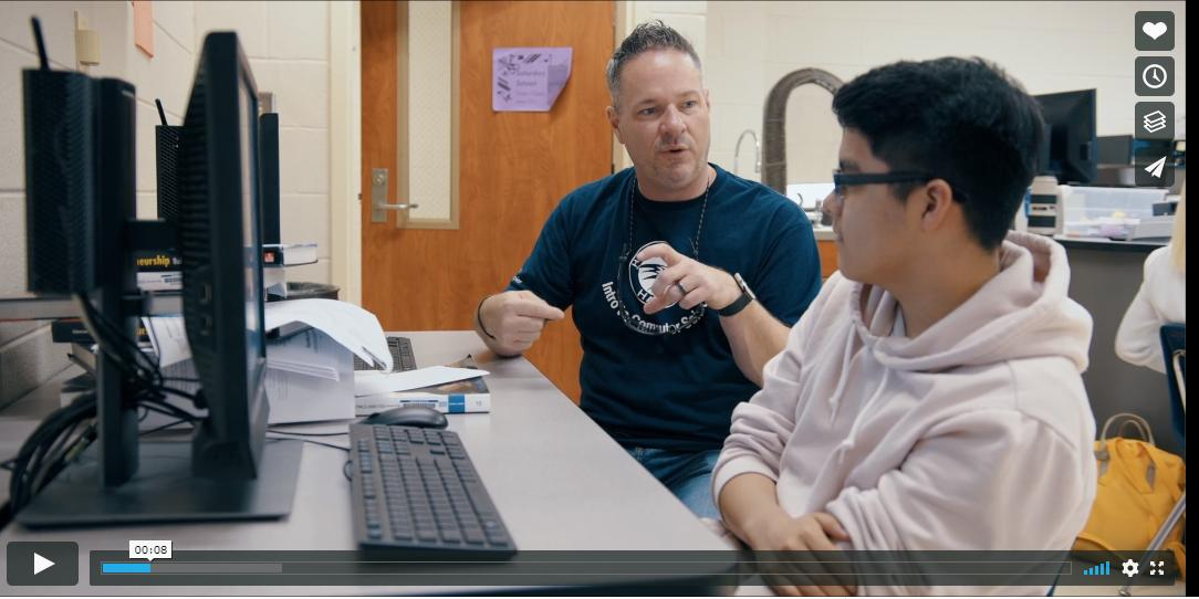 A huge shout out to all @TeamCharleston for jumping head first into the Charleston @tealsk12org program. @ChasChamber @cmitch @CHSOpenSource @1teachCS @CCSD_CTE @bcsdschools @Dorchester_Two Watch this (link: vimeo.com/350122847#t=1s) vimeo.com/350122847#t=1s